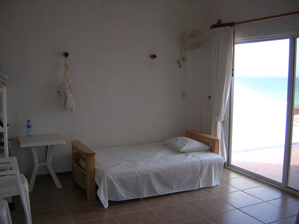 Furnished beach house at San Benito. Bedroom