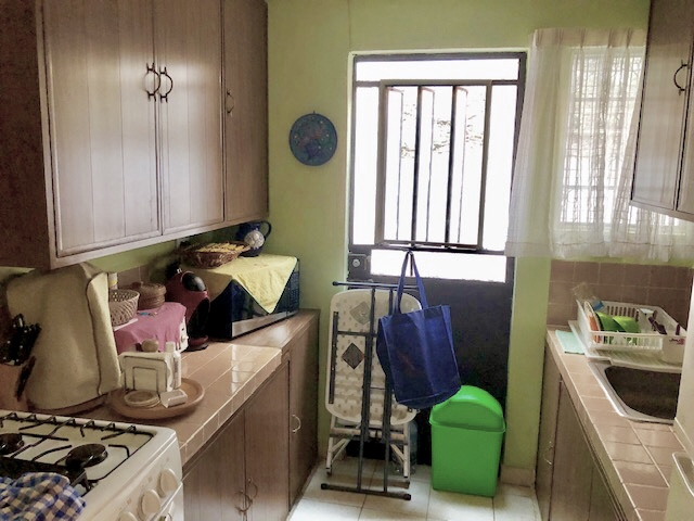 One floor house for sale at Loma Bonita Xcumpich. Kitchen