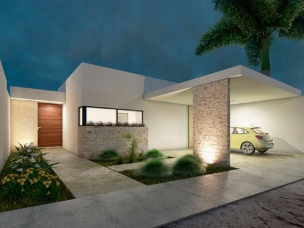 House in a gated community Privada Trinum Merida (One floor)