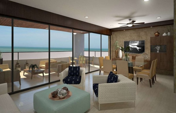 Luxury apartments for pre-sale at Chicxulub. 10