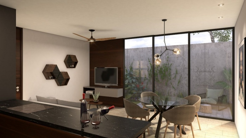 Apartments for sale at Montes de Ame with excellent location. Kitchen and dining room