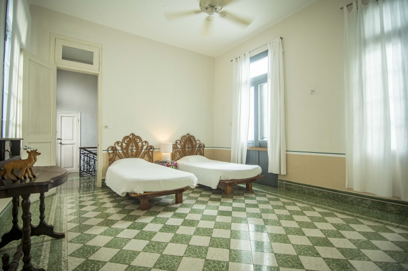 Paseo Montejo....best of both worlds. Bedroom