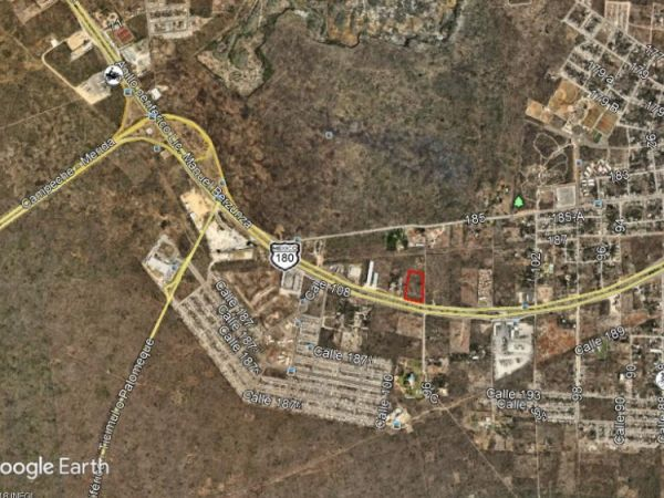 Commercial land for sale at Periferico Sur