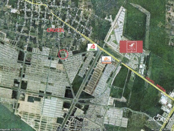 Commercial lot on avenue at Ciudad Caucel