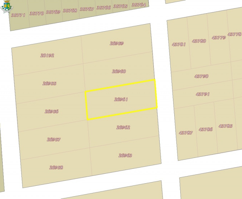 Lot for sale at Dzitya. Location