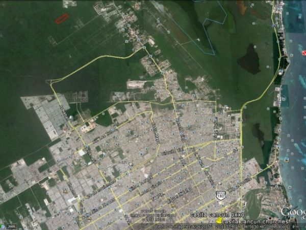 Residential lot for sale at Cancun.