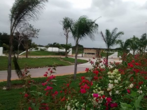 Residential Land for sale in Parque Central Residencial Cholul. Yucatan Properties