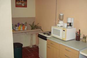 Furnished beach house for rent at Chicxulub in second row. Kitchen