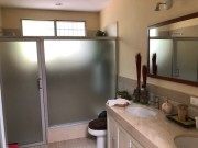 One floor house for sale at Loma Bonita Xcumpich. Bathroom