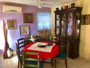 One floor house for sale at Loma Bonita Xcumpich. Dining room