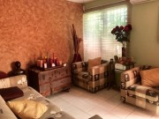 One floor house for sale at Loma Bonita Xcumpich. Living room