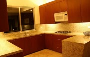 House for sale in exclusive gated community at Temozon Norte. Kitchen