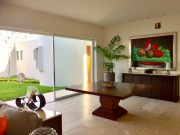 House for sale in exclusive gated community at Temozon Norte. Dining room