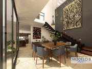 Houses for sale at Cholul (Salamanca Cholul). Model B Dining room