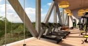 Beautiful furnished apartments at Tulum (Tuk Tulum Art Walk). Gym