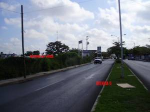 Magnificent Commercial land for sale in front of Sams Club Oriente. Avenue
