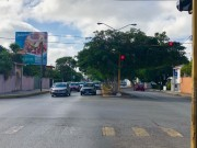 Commercial property at Colonia Mexico (corner on avenue). Street