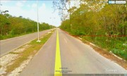 Commercial land lot at Cozumel, Quintana Roo. Side avenue