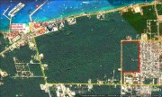Commercial land lot at Cozumel, Quintana Roo. Google