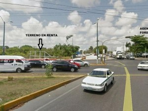 Commercial land for rent at Cancun, Quintana Roo