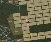 Land for sale at Komchen, Yucatan (corner). Location