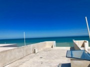 Beach front villa for sale at San Benito. Roof terrace