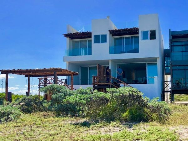 Beach front villa for sale at San Benito