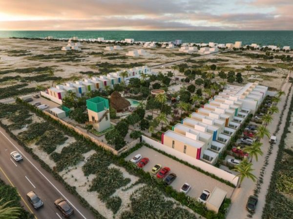 Villas and townhouses for sale at Chicxulub, Yucatan